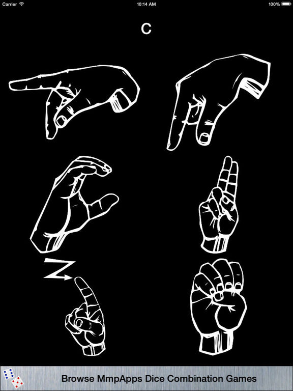 3Strike American Sign Language Fingerspelling screenshot