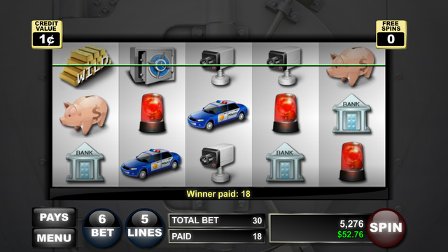 Robbing For Riches Slots