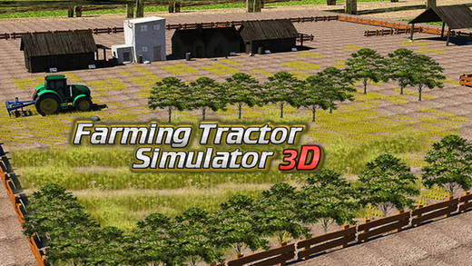 Farming Tractor Simulator - 3D Agriculture Farm Plowing Machine