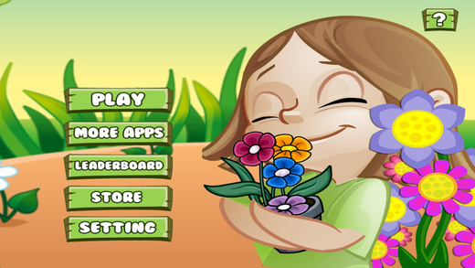 Plants And Flowers Crusher - A Speed Tapper Game for Girls PRO