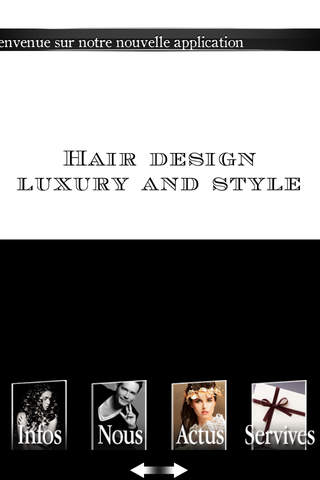 Hair Design luxury and style screenshot 1