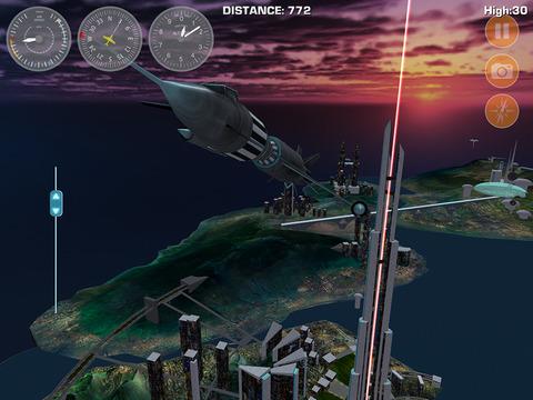 Скачать игру Airplane Fly Megatropolis