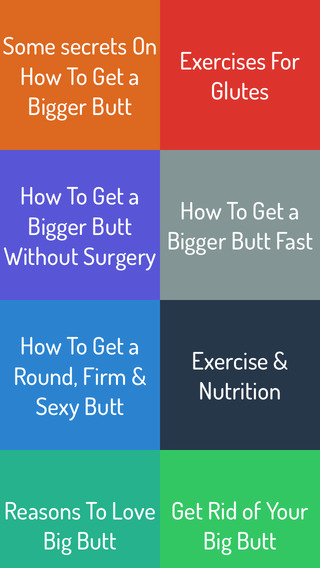 【免費生活App】How To Get Big Butt - Complete Video Guide-APP點子