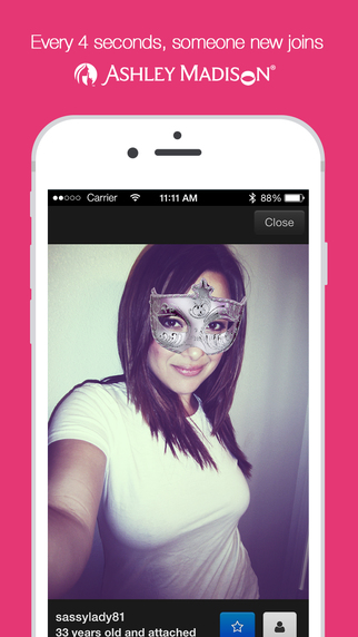 Ashley madison dating app