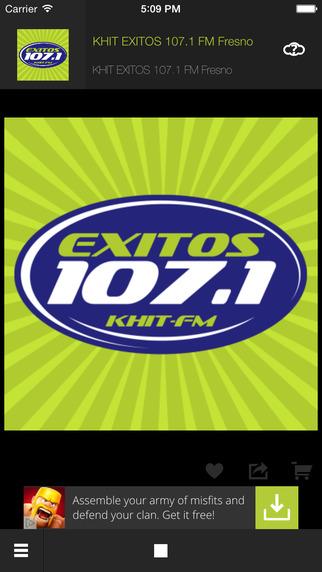 KHIT EXITOS 107.1FM Spanish Fresno California