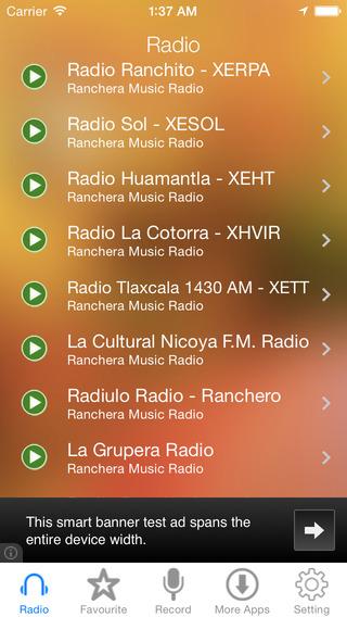 Ranchera Music Radio Recorder