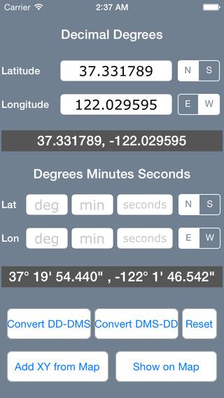 Coordinate Converter - Latitude Longitude