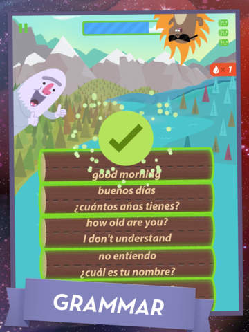 Learn Spanish by MindSnacks Screenshot