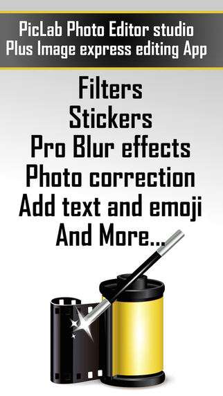 PicLab - Photo editor studio plus Image express editing App