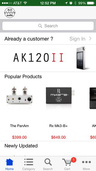 ALO audio Store