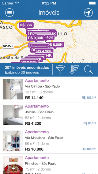 Sampa Housing Aluguéis