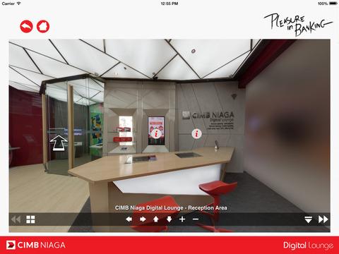 CIMB Niaga Digital Lounge