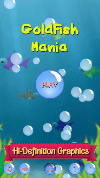 Goldfish Mania - Colorful Match 3 Puzzle Game