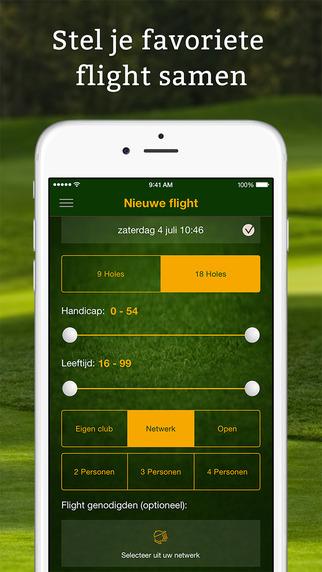 Golf-at - Het sociale golfers platform
