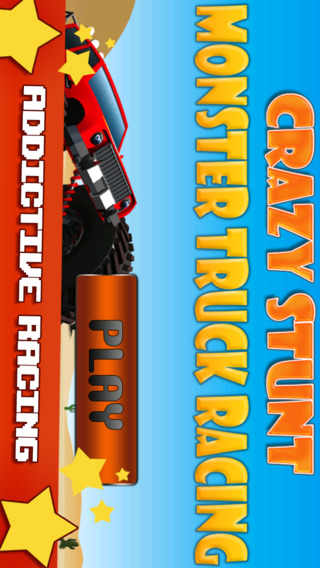 Crazy Stunt Monster Truck Racing Free