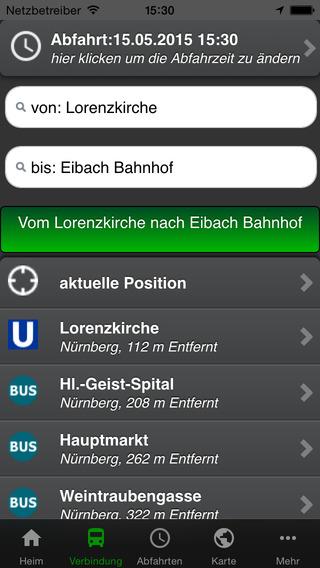 A+ Fahrplan Nürnberg Premium