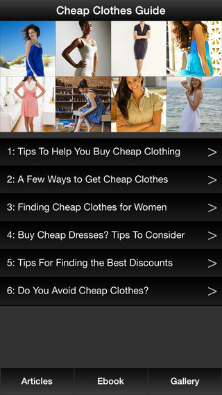 Cheap Clothes Guide - A Guide To Find Cheap Trendy Clothes For Women