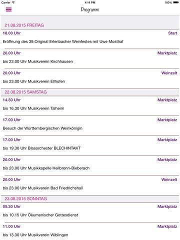 玩免費生活APP|下載Erlenbacher Weinfest app不用錢|硬是要APP