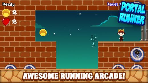 Portal Runner Game