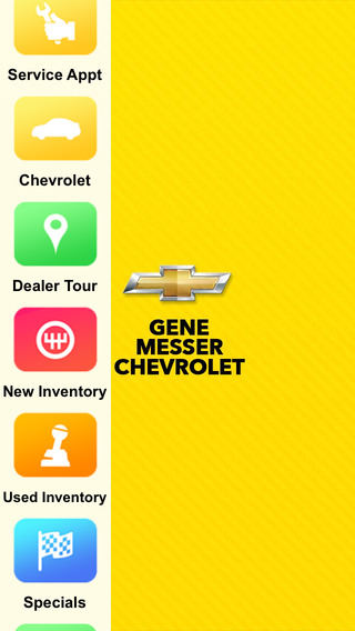 Gene Messer Chevrolet Dealer App