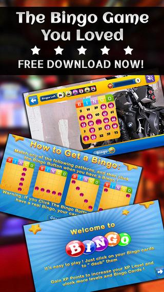 BINGO BIKERS - Play Online Casino and Gambling Card Game for FREE