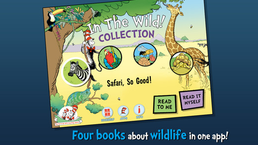 In The Wild! Cat in the Hat Learning Library Collection By Oceanhouse Media  Review + Giveaway