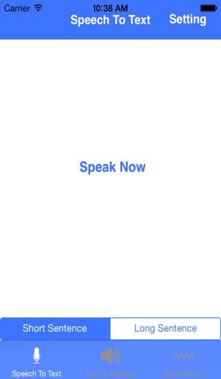 Speech Converter