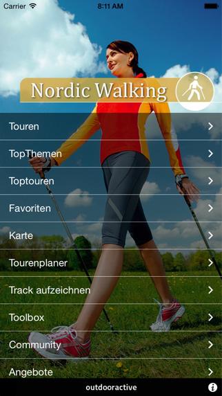 Nordic Walking - outdooractive.com Themenapps
