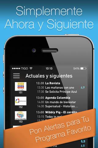 YO.TV Colombia Guía de TV screenshot 1