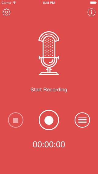Top Audio Recorder - My Voice Memos PRO Screenshots
