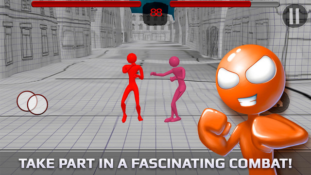 Stickyman Fight 3D Deluxe