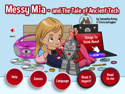 Messy Mia - Tales and Stories of Ancient Tech