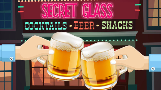 Secret Glass - Cocktail Hide N Seek