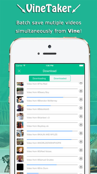 VineTaker - Video downloader for Vine save for Vine