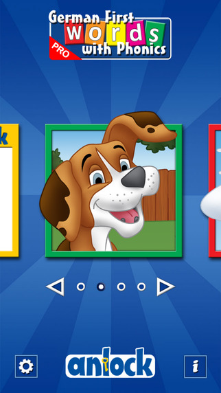 German First Words with Phonics Pro: Kids Deluxe-Spelling Learning Game