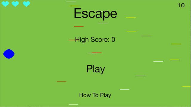Escape the lines