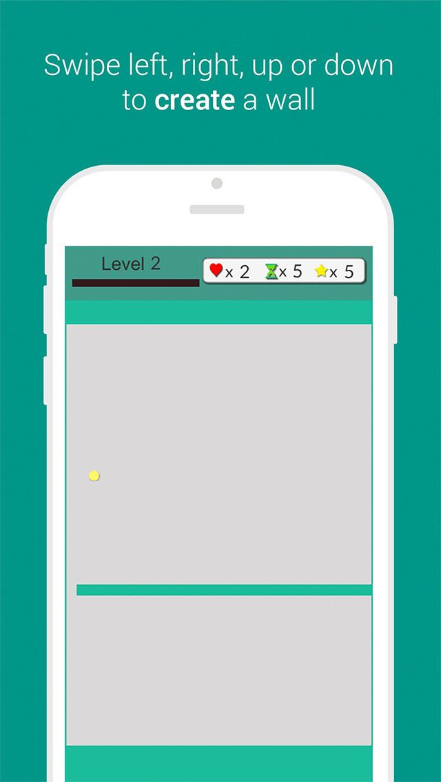 Jezzy - The Modern JezzBall screenshot 1