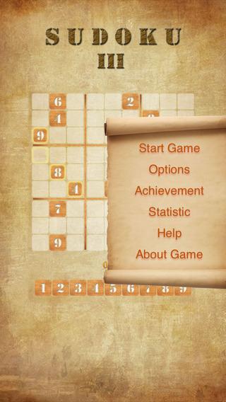 Sudoku III