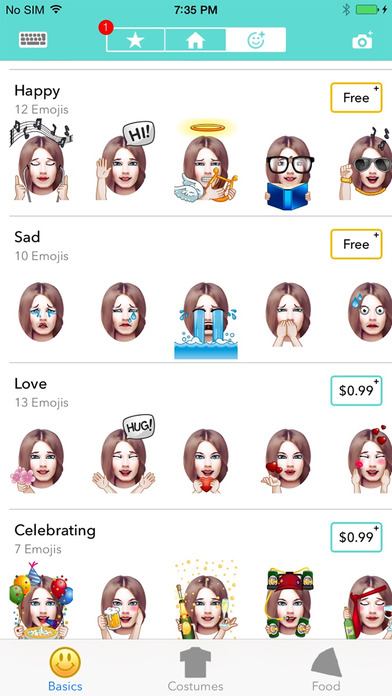 EmojiFace - Turn Your Face into an Emoji screenshot