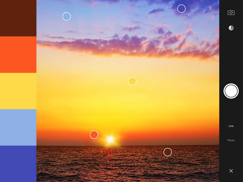 Adobe Color CC — сохранение цветовых тем