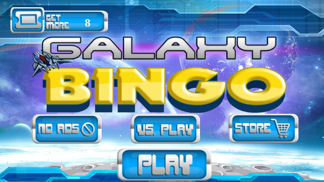 Galaxy Bingo Multiplayer - Play live with your friends FREE