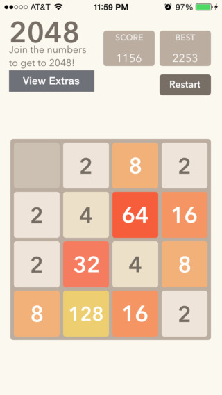 2048 Slider - The 2048 Number Puzzle Game