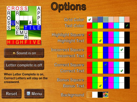 Crossword HD - Multiplayer and Solo. screenshot