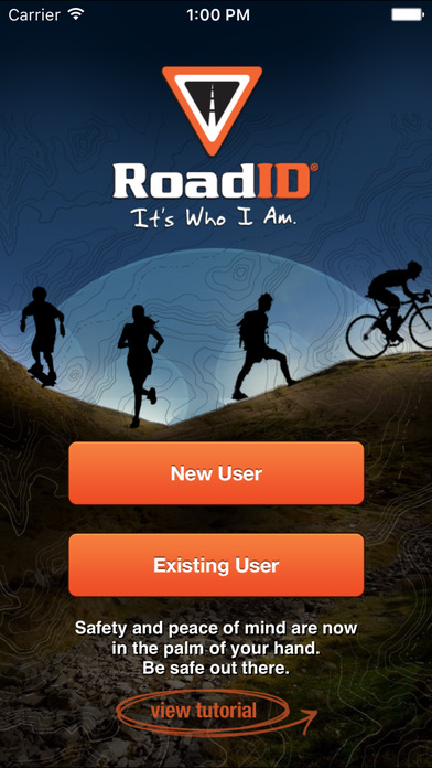 Road ID screenshot