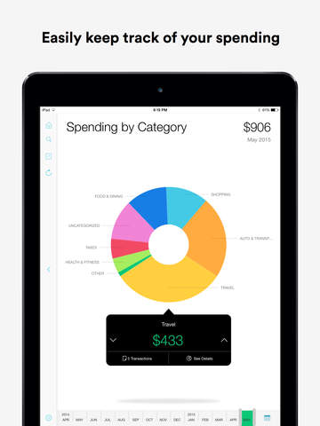 Screenshot 1 Mint: Money Manager,  Budget & Personal Finance