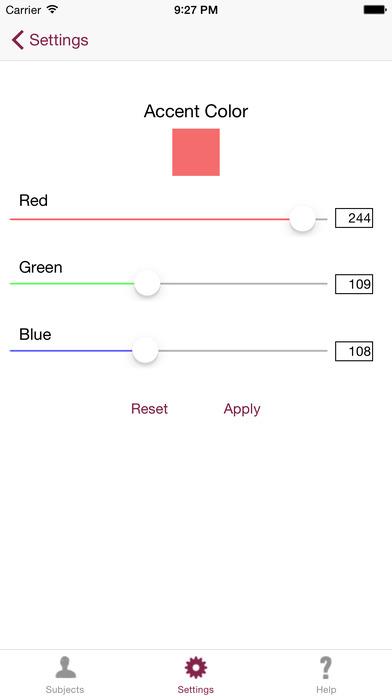 Mental Health Scales iPhone Screenshot 2