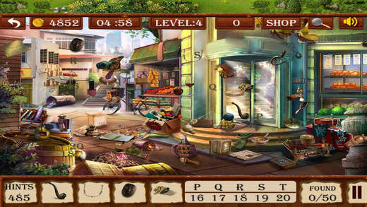 Hidden Objects:House of Talents