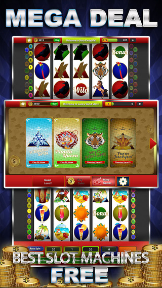 Lucky Wind Party Slots - Hot Winter Video Slot Machine with Real Vegas Casino Style Graphics High Ca