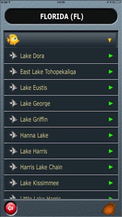 Fishing Lakes-USA iPhone Screenshot 5