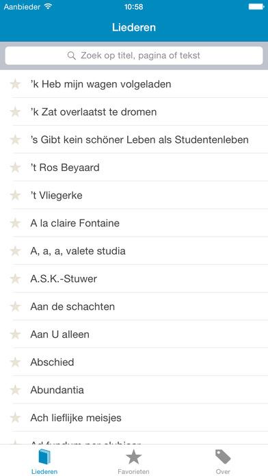 Studentencodex iPhone Screenshot 1